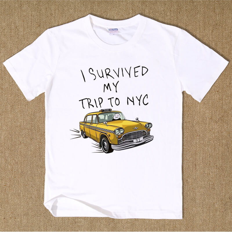 Spiderman Homecoming I Survived My Trip To NYC T shirt  e5d12978931