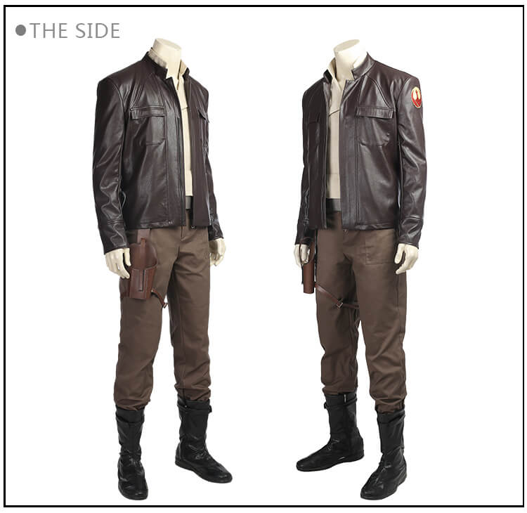 Star Wars 8 Cosplay Costume Poe Dameron...