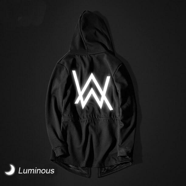 Luminous Alan Walker Hooded Sweatshirt Faded Cosplay Long Hoodie