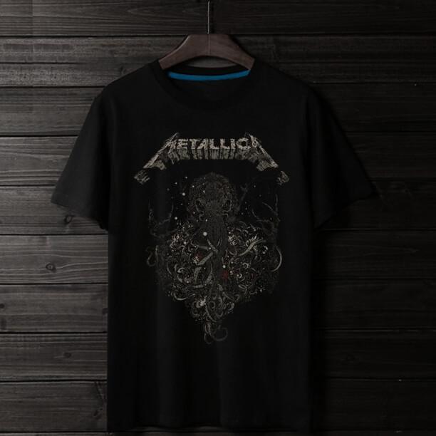 <p>Metal band Quality Shirts Rock Metallica T-Shirts</p>