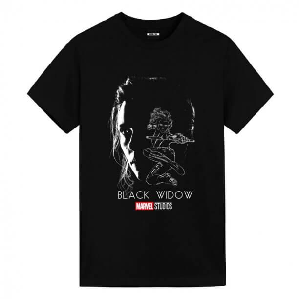 Black Widow T-Shirts Mens Marvel T Shirts