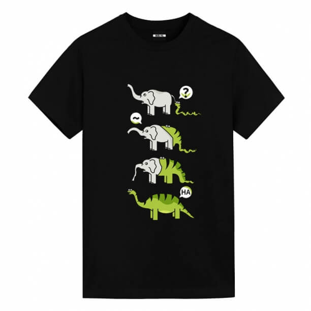 Snake Swallow Elephant T-shirt