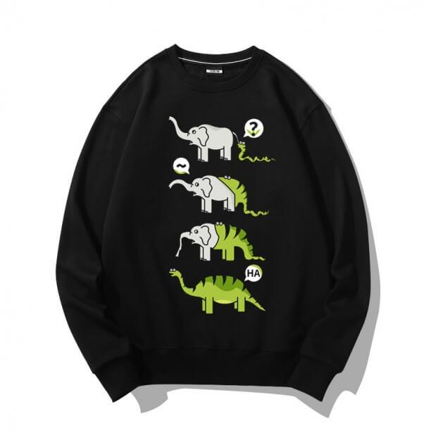 Snake Swallow Elephant Coat Sweatshirts