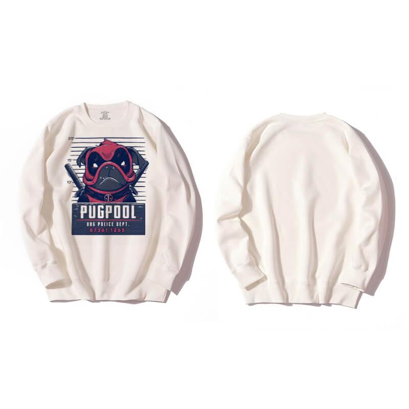 <p>Deadpool hooded sweatshirt Black Sweatshirt</p>