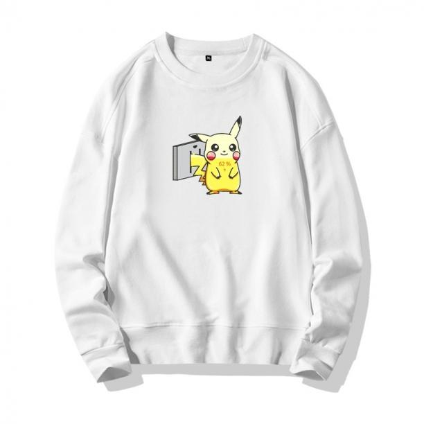 <p>Funny Pikachu Tops Black Sweatshirts</p>