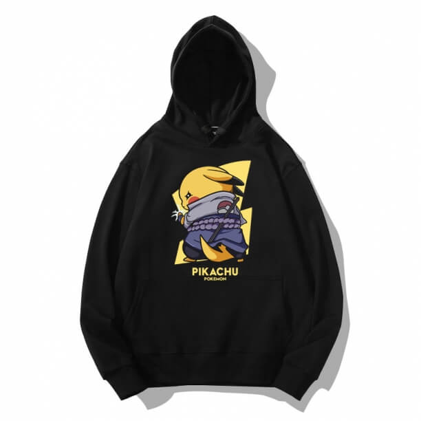 Pokemon Uchiha Sasuke Pikachu Sweatshirts Coat