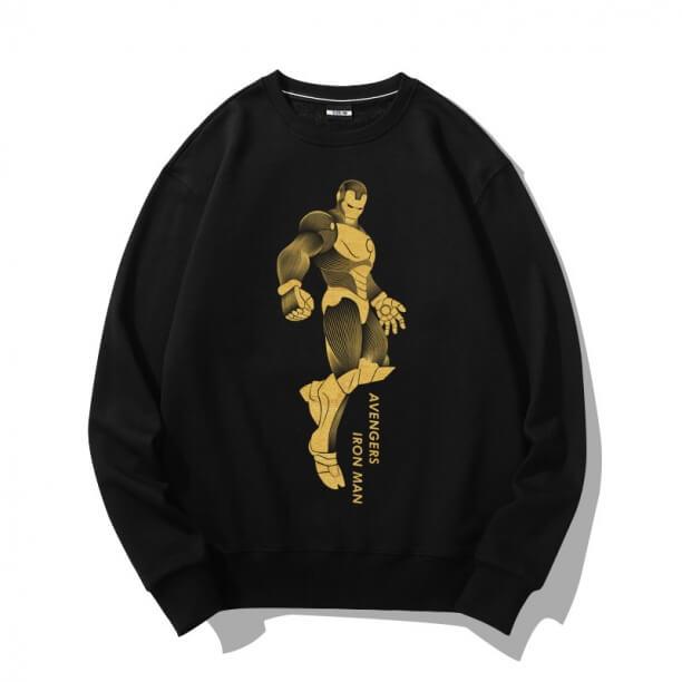 Marvel Superhero Iron Man Bronzing Sweater Hoodie
