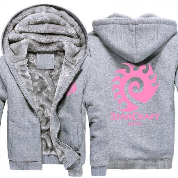 <p>Starcraft 2 Zerg Thick Hoodies For Winter</p>