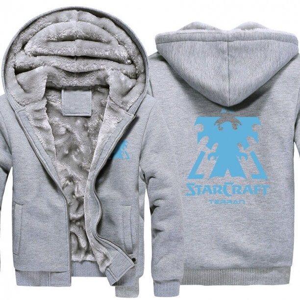 <p>Starcraft 2 Logo Winter Warm Hoodies</p>