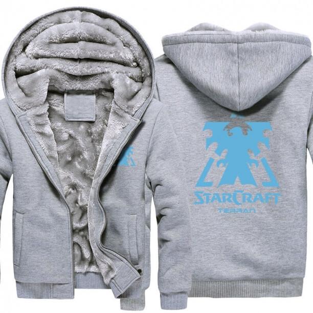 <p>Starcraft 2 Logo Winter Warm Hoodies</p>