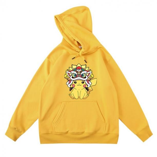 <p>Cool Hoodie Pikachu Hooded Jacket</p>