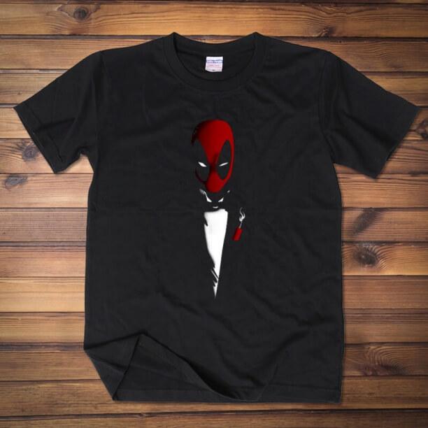 Deadpool Gentleman Design t shirt