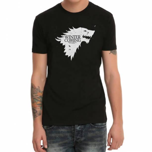 Game of Thrones Black Print T-Shirt