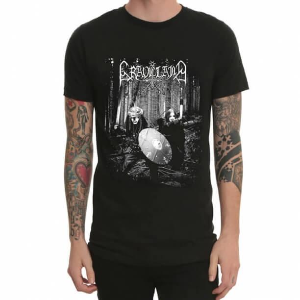 Graveland Dark Heavy Metal Rock T-Shirt Black