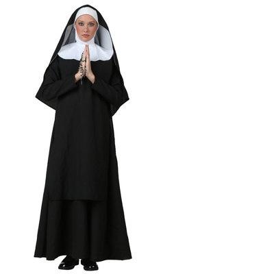 Halloween Easter Priest Jesus Maria Cosplay Costumes for Women