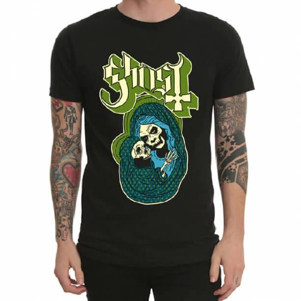 Heavy Metal Ghost Rock Band Tshirt