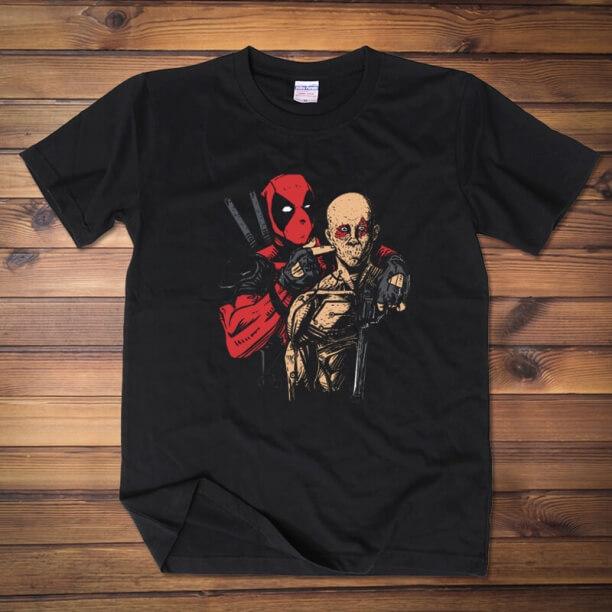 Marvel Deadpool Hero T shirt for mens