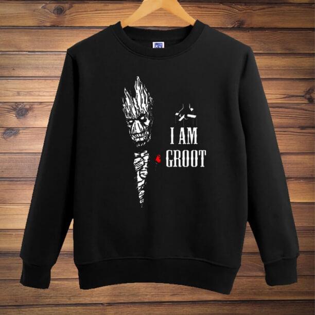 Personalised Groot Hoodie Guardians Of The Galaxy 2 Merchandise