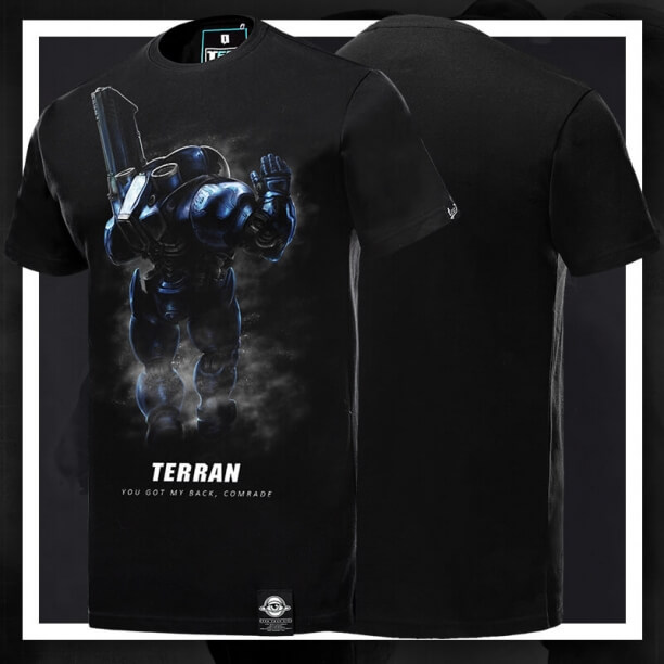 StarCraft Terran Tshirt