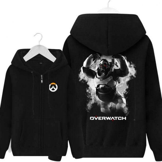 Winston Overwatch Hoodie Blizzard Hero Sweatshirt for Young