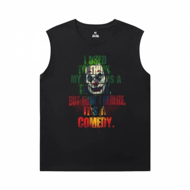 Batman Joker Shirt Superhero Men'S Sleeveless Muscle T Shirts
