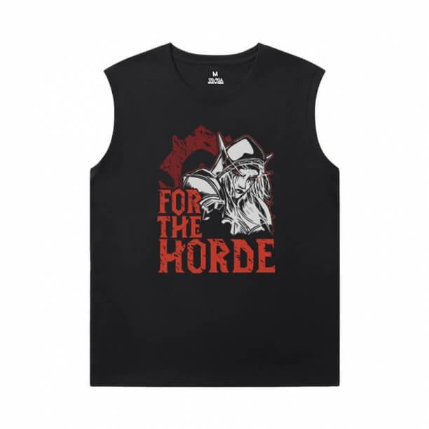 Blizzard Tshirt Warcraft Sleeveless T Shirt For Gym