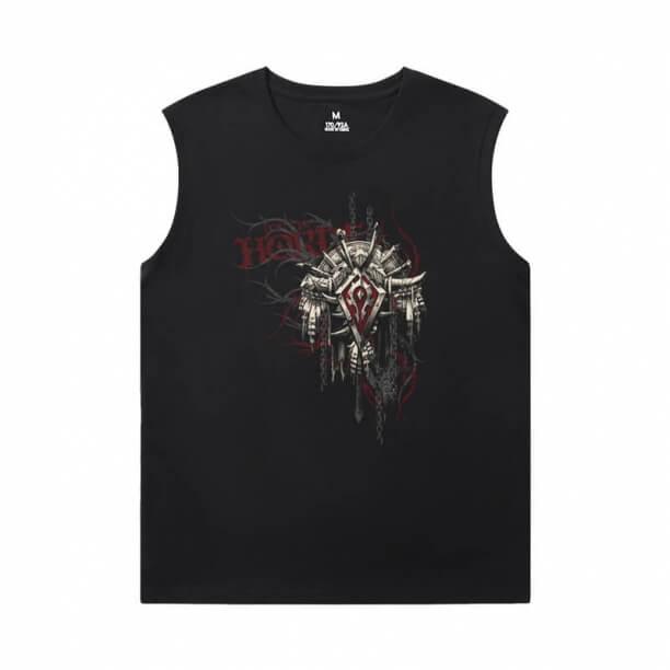 WOW Classic Tees Blizzard Basketball Sleeveless T Shirt