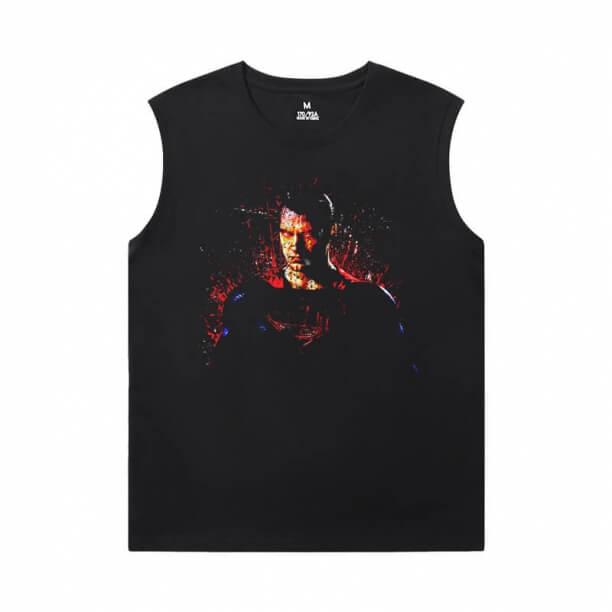 Justice League Superman Tee Superhero Mens XXXL Sleeveless T Shirts