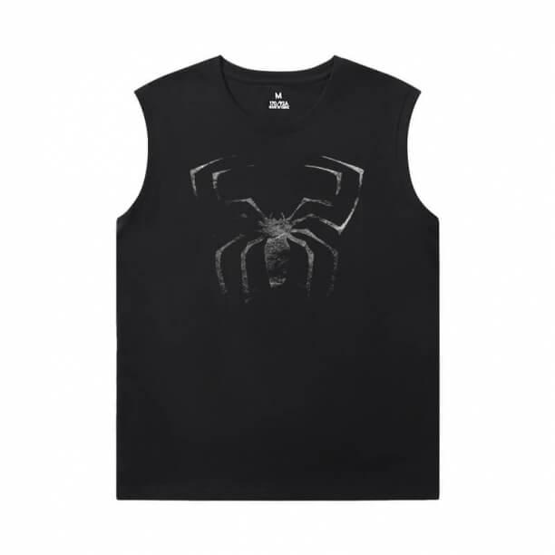 The Avengers Tshirts Marvel Spiderman Vintage Sleeveless T Shirts