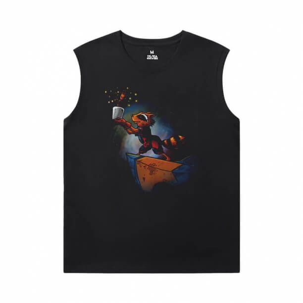 Marvel Guardians of the Galaxy T-Shirt The Avengers Groot Basketball Sleeveless T Shirt