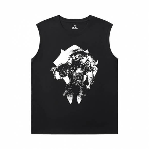 WOW Classic T-Shirts Blizzard Oversized Sleeveless T Shirt