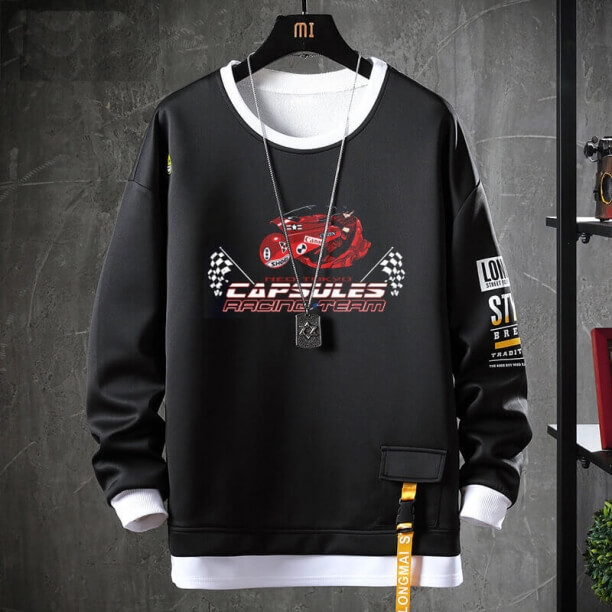 Akira Sweatshirt Black Jacket