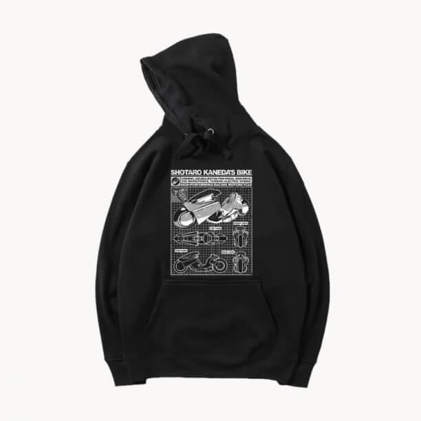 Akira Hoodies Pullover Sweatshirts