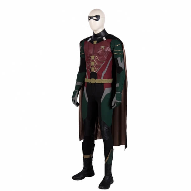 DC Superhero Titans Robin Suit Dick Grayson Cosplay Costume