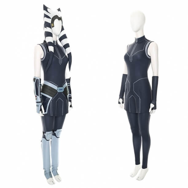 Star Wars The Clone Wars Ahsoka Cosplay Costume