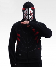 Overwatch Oni Genji Mask Cosplay Hoodie Quality OW Hero Sweatshirt
