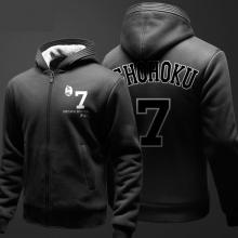 Cool Miyagi Ryota Sweatshirts Male SHOHOKU Printing Hoodie Black Youth