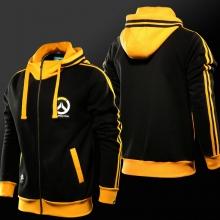 Blizzard Overwatch Logo Hoodie Zip OW Sweatshirt