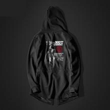 V For Vendetta Mask Hoodie Long Vendetta Movie Black Hooded Sweatshirt