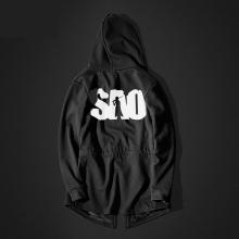 SAO Sword Art Online Black Sweatshirt Mens Long Mens Hoodie  Cool