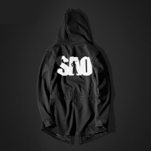 SAO Sword Art Online Black Sweatshirt Mens Long Mens Hoodie  Cool