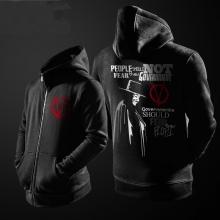 V For Vendetta V Hoodie Black Men Zipper Coat for Youth