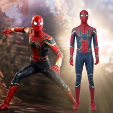 Avengers Infinity War Spiderman Cosplay Costume Tom Holland Costume