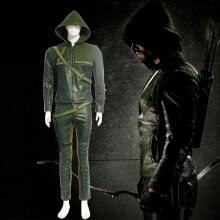 Green Arrow Cosplay Costume Oliver Queen Jakcket