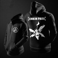 Cool Linkin Park Hoodie For Mens Black Sweatshirt