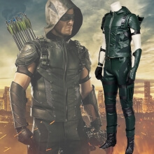 Green Arrow Cosplay Costume Oliver Queen Cosplay