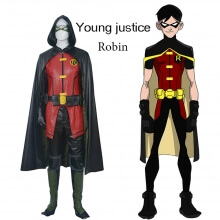 Justice League Robin Cosplay Costume