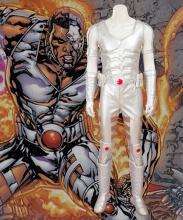 Cyborg Victor Stone Cosplay Costume