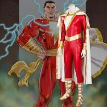 Captain Marvel Shazam Cosplay Costume
