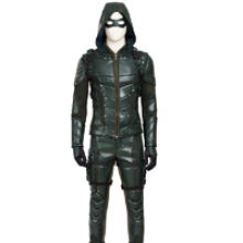 Green Arrow 5 Cosplay Costume Oliver Queen Cloth